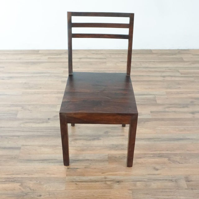 Modern Contemporary Monterey Crafts Justo Dining Chairs - a Pair For Sale - Image 3 of 7