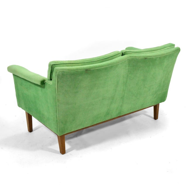 Edward Wormley Pair of Sofas / Settees For Sale - Image 9 of 10