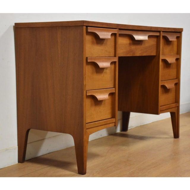 Johnson Carper Walnut & Formica Desk - Image 3 of 9