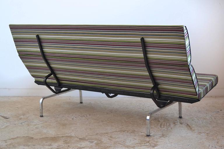 Great Eames Sofa Compact With Paul Smith Fabric By Herman Miller   Image 6 Of 9