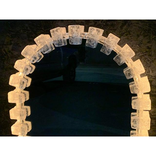 Acrylic Illuminated Acrylic Resin Mirror For Sale - Image 7 of 12