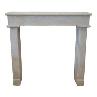 Simple Louis XV Farmhouse Mantel For Sale