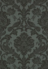 Image of Damask Wallpaper