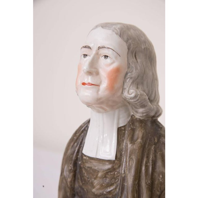 19th Century Porcelain Figure of John Wesley - Image 5 of 5
