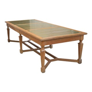 Magnificent Large French Oak Monastery Table For Sale