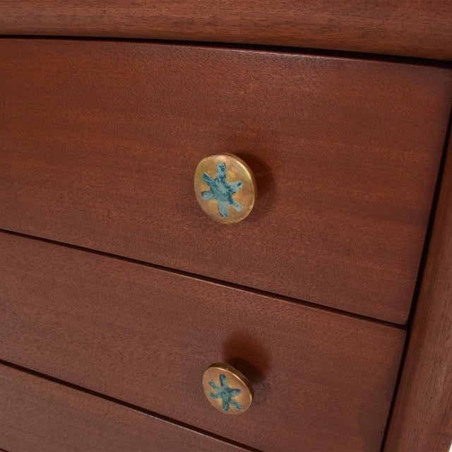 Mid-Century Modern Mid-Century Mexican Modernist Chest of Drawers by Frank Kyle Pepe Mendoza For Sale - Image 3 of 11