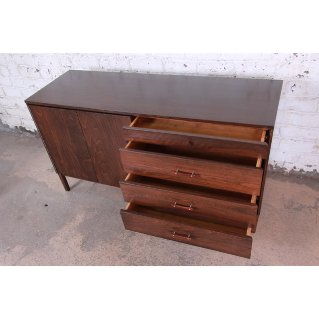 Paul McCobb Perimeter Group Birch Credenza, Newly Restored For Sale - Image 9 of 13