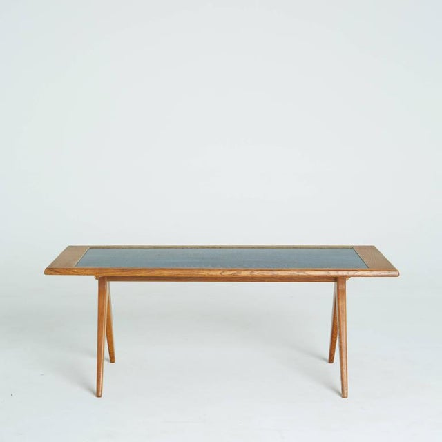 Abstract 1955 Stig Lindberg & David Rosen Enamel Coffee Table For Sale - Image 3 of 7