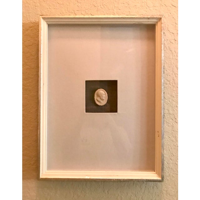 Matted and Framed Intaglio #5 For Sale - Image 4 of 4