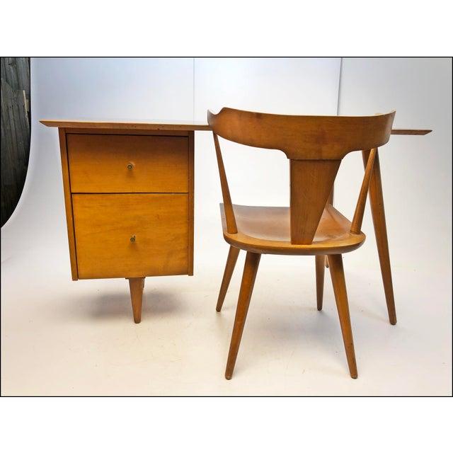 Mid Century Modern Paul McCobb Planner Group Desk & Chair For Sale - Image 13 of 13