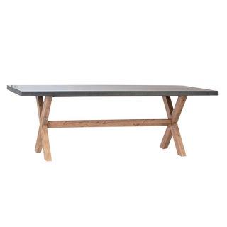 Outdoor Modern Farmhouse Table For Sale