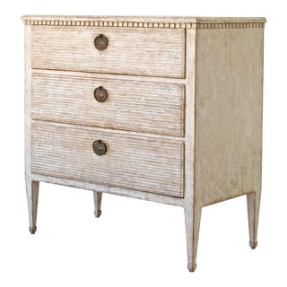 Late 19th Century Swedish Gustavian Style Chest