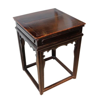 19th Century Chinese Square Table For Sale