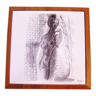 Pablo Picasso La Femme Ceramic Tile