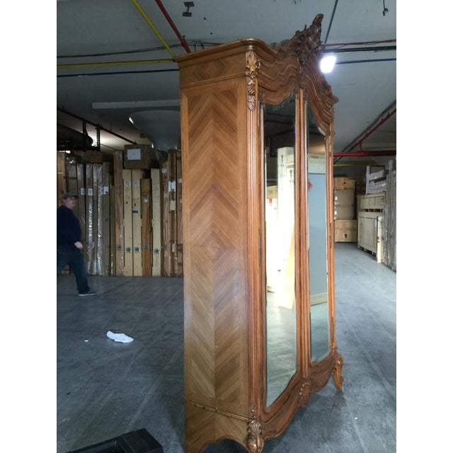 Traditional 19th Century French Armoire For Sale - Image 3 of 10