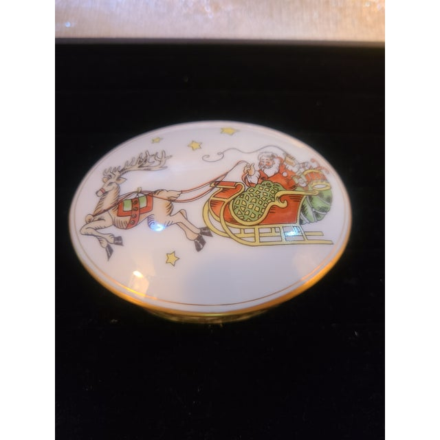 1980s Fitz and Floyd St Nicholas Trinket Box For Sale In Atlanta - Image 6 of 6