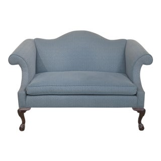 Ethan Allen Georgian Court Clawfoot Cherry Loveseat
