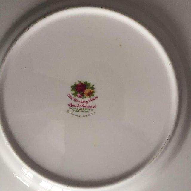 Royal Albert Rose Pattern English Bone China Plate - Image 4 of 5