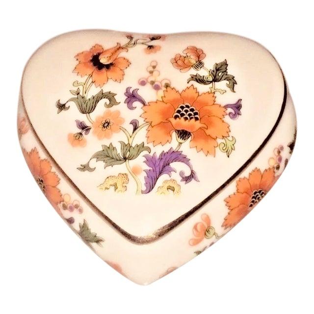 Limoges Rochard France Trinket Jewelry Heart Box For Sale