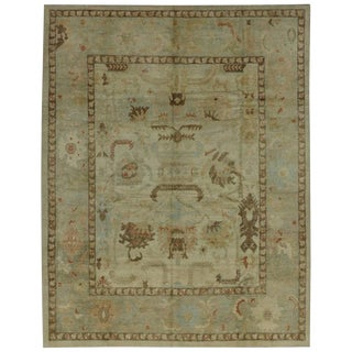 Modern Turkish Oushak Rug With Transitional Style - 07'10 X 10'00