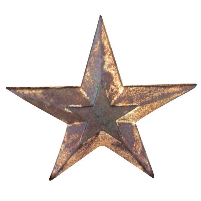 Vintage Cast Iron Star - Image 1 of 6