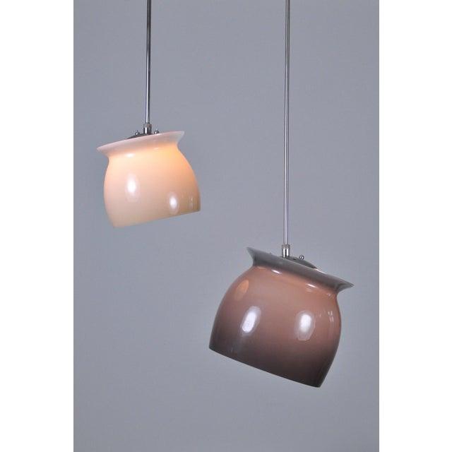 Italian Studio Venini Pivot Pendant Lamp 1960s - Large For Sale - Image 3 of 7