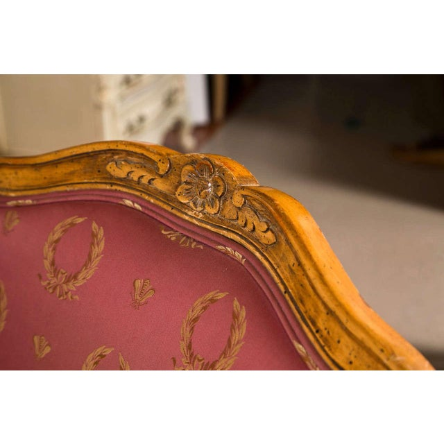 French French Louis XV Style Walnut Fauteuils - A Pair For Sale - Image 3 of 9