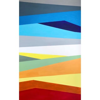 'Prismatic' Original Abstract Painting by Linnea Heide For Sale