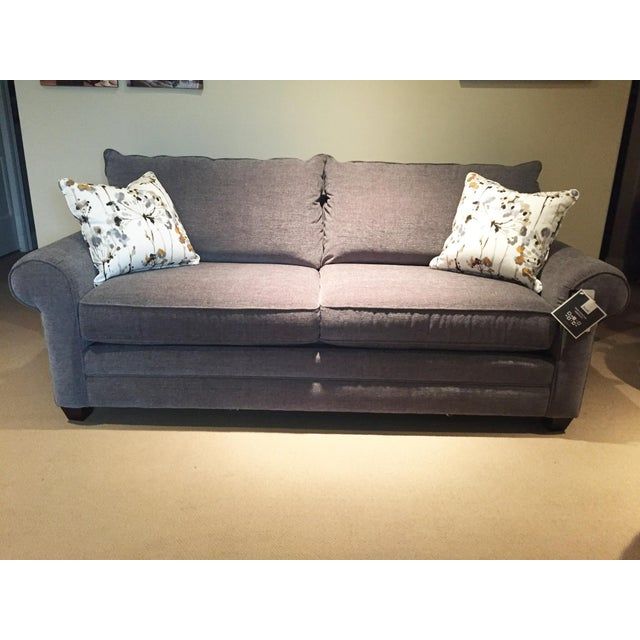 Modern Bassett Furniture Gray Sofa Chairish