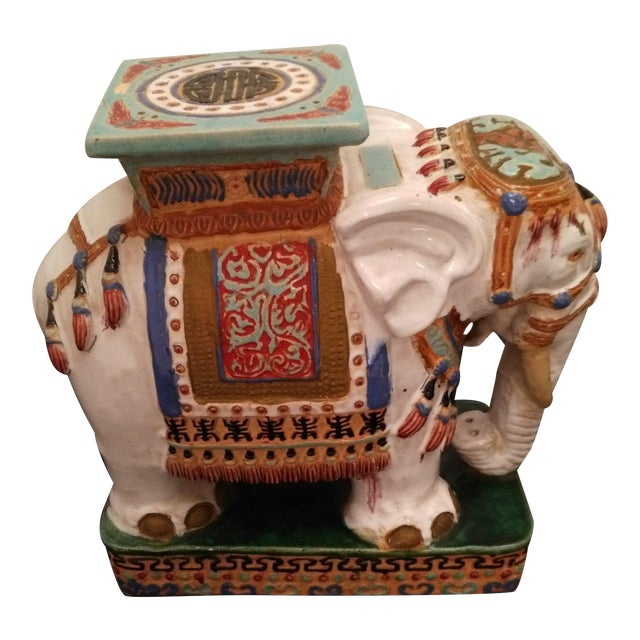 Elephant Decorative Plant Stand - Image 1 of 11