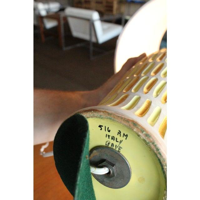 Raymor Italian Incised Pottery Lamp - Image 5 of 5