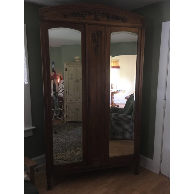 19th Century Antique French Country Armoire For Sale In New York - Image 6 of 6