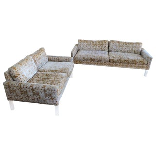 Lucite Sofa and Loveseat by Thayer Coggin For Sale