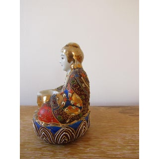 Early 20th Century Japanese Moriage Buddha Incense Burner Preview