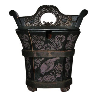 Qing Dynasty Chinese Teapot Box For Sale