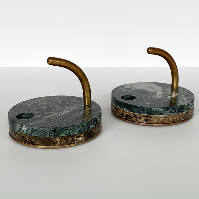"Designer: unknown Italy - Circa 1980s Dimensions: 6.5"" H x 8"" DIA Condition: Very good vintage condition. Pair of Italian..."