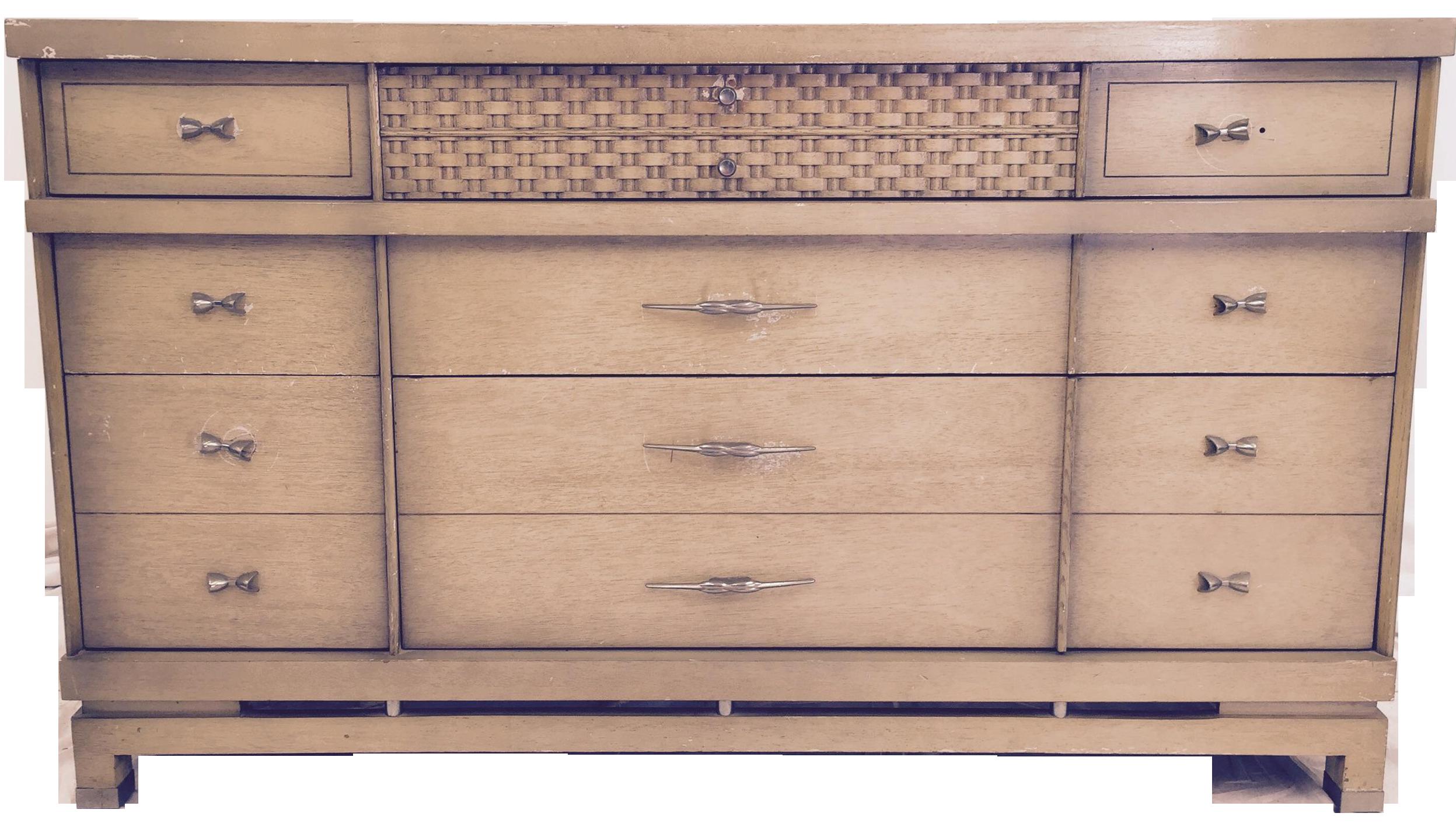 Perfect Bassett Furniture Mid Century Dresser Image 1 Of 11
