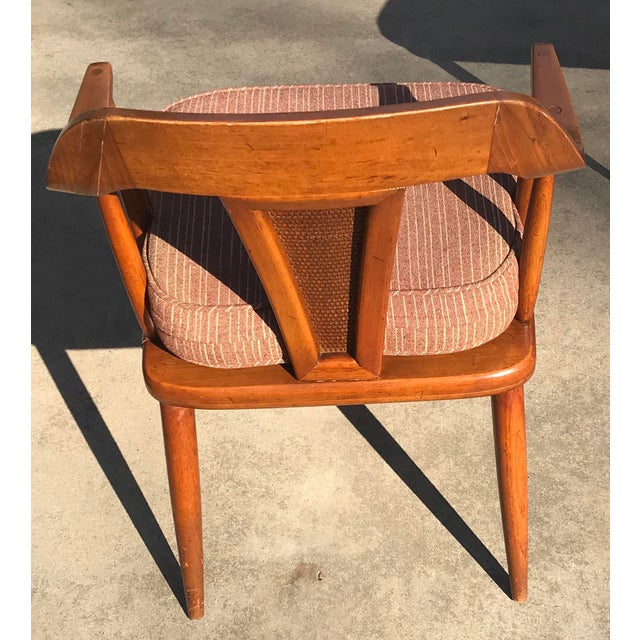 Tomlinson of High Point Mid Century Dining Chairs - Set of 4 For Sale In Dallas - Image 6 of 13