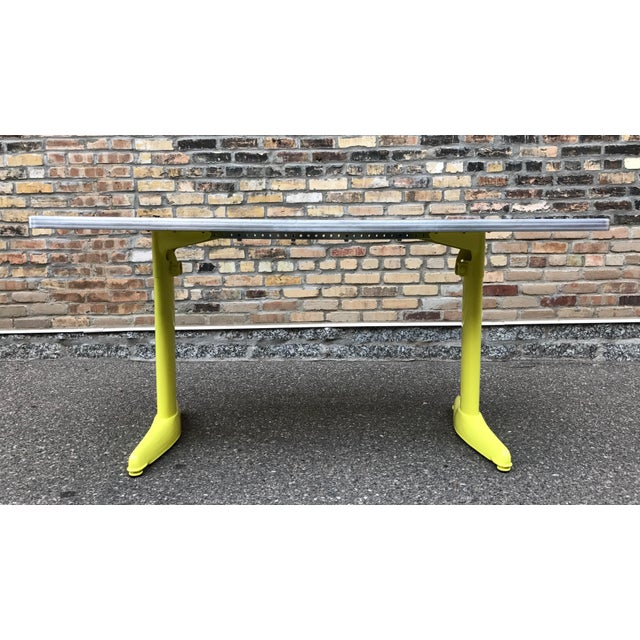 Vintage Industrial American Seating Co. Dining Table - Image 5 of 11