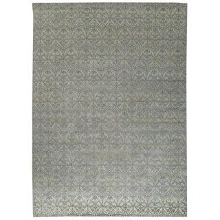 Contemporary Stark Studio 60% Wool/40% Bamboo Silk Rug - 10 X 14 For Sale