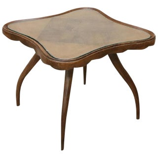 20th Century Italian Design Coffee Table by Osvaldo Borsani, 1940s For Sale