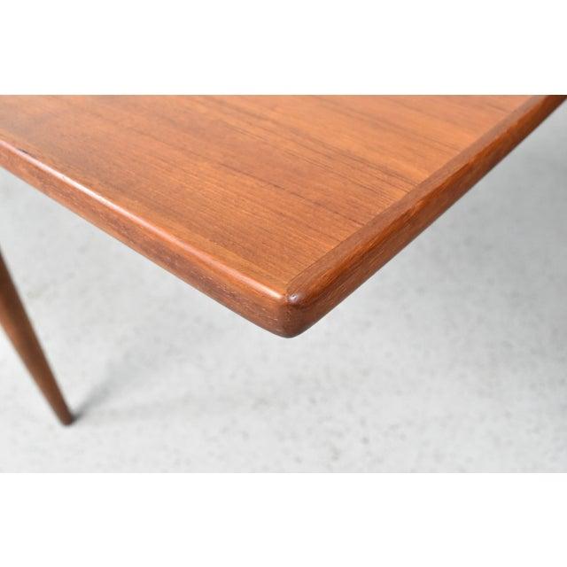 Mid-Century Skovmand Andersen Teak Dining Table For Sale - Image 7 of 8