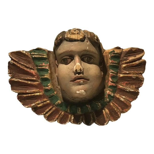 1930s Vintage Carnival Art Sculptural Carousal Fragment For Sale
