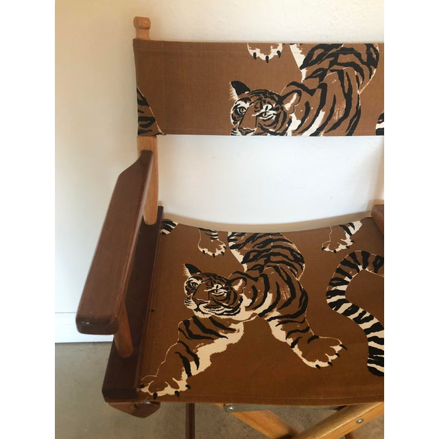 Le Tigre Directors Chair For Sale - Image 4 of 10
