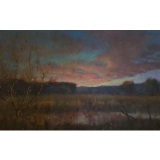 """Chris Burkholder """"Avery Bottom"""" Oil Painting For Sale"""