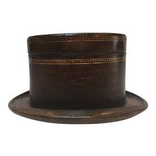 Maitland Smith Top Hat Box