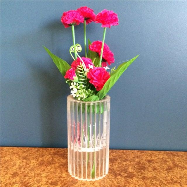 Van Horn Hayward Lucite Candle Holder or Vase - Image 3 of 6