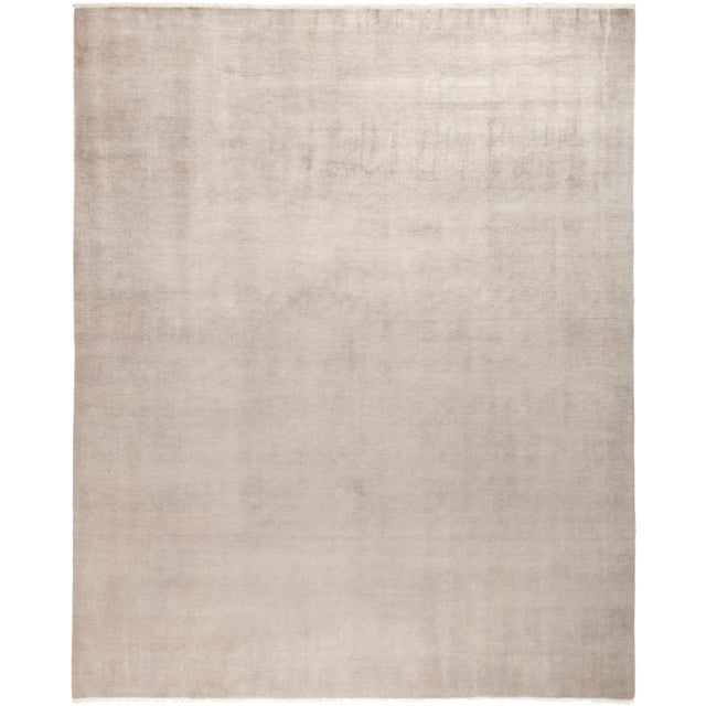 "Solids Hand Knotted Area Rug - 8' 0"" X 10' 0"" - Image 4 of 4"