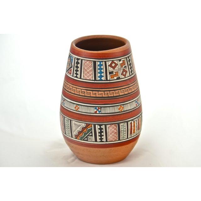 Peruvian Hand Painted Vase Chairish