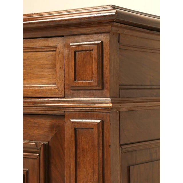 Traditional French Walnut Buffet For Sale - Image 3 of 10